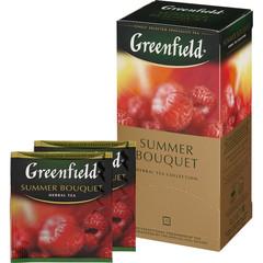 Чай Greenfield Summer Bouquet фруктово-ягодный 25 пакетиков