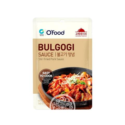 Маринад для свинины Бульгоги O'Food 140г  Daesang Корея