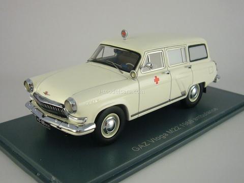 GAZ-M-22E Volga Ambulance export NEO 1:43