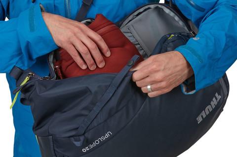 Картинка рюкзак горнолыжный Thule Upslope 35L Lime Punch - 14