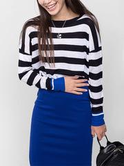 GSW003496 ф-ка женская, темно-сине/голубой
