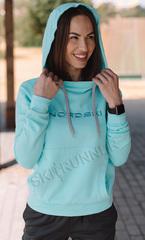 Толстовка с капюшоном Nordski Kangaroo Light Breeze женская
