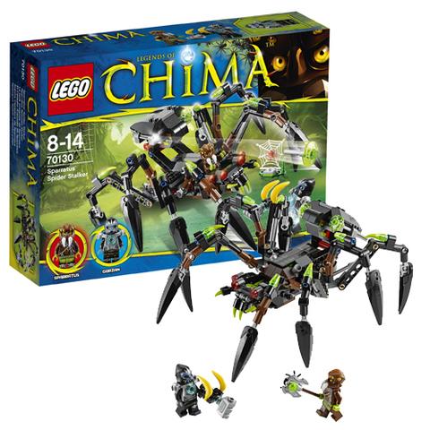 LEGO Chima: Паучий охотник Спарратуса 70130 — Sparratus' Spider Stalker — Лего Легенды Чима