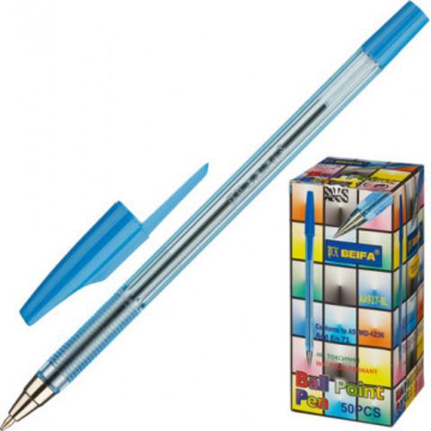 Ручка шариковая Beifa AA 927 синяя (толщина линии 0.5 мм)