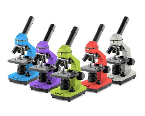 Микроскоп Levenhuk Rainbow 2L PLUS Amethyst\Аметист