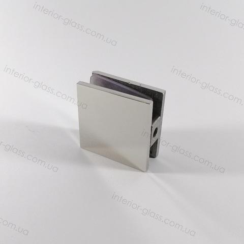 Соединитель (держатель) стена-стекло HDL-721-1 CP полированный хром