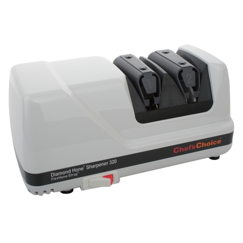 Точилка электрическая для заточки ножей, белая, серия Knife sharpeners, CC320W, Chef'sChoice, США