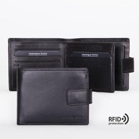 654 R - Портмоне отделением на молнии и RFID защитой