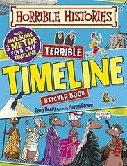 Horrible Histories: Terrible Timeline - Sticker...
