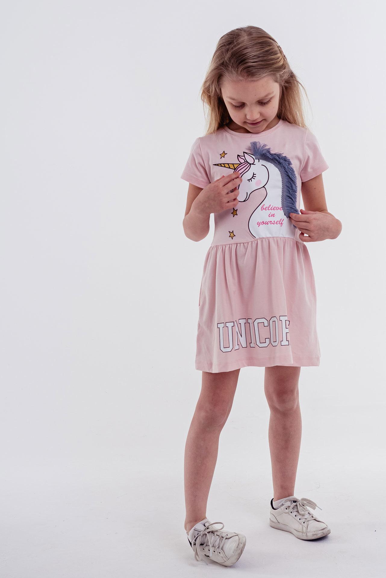 Платье Единорог Pamtime Kids Турция, 317231