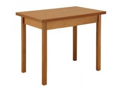 Стол обеденный (прямая ножка, раскладной) с ящиком