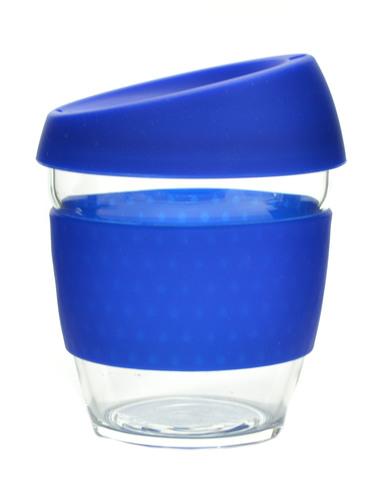 Кружка Coffee Cup из боросиликатного стекла 226 мл. синий