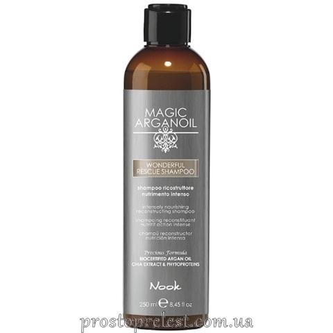 Nook Magic Arganoil Wonderful Rescue Shampoo — Шампунь реконструюючий екстрапоживний