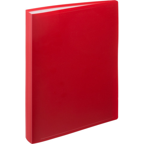 Папка файловая на 100 файлов Attache красная