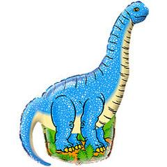 F Диплодок динозавр (синий), 43