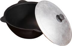 Алюминиевая крышка на казан 12л