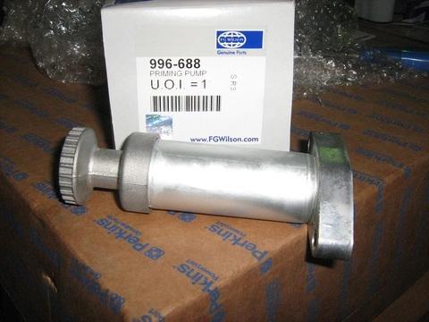 Насос топливоподкачивающий / PRIMING PUMP АРТ: 996-688