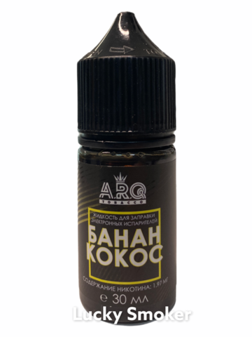 Жидкость ARQ Salt 30 мл Банан Кокос