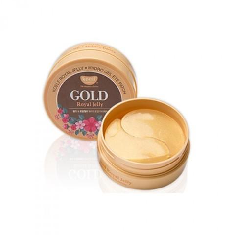Koelf Гидрогелевые патчи для глаз с золотом и маточным молочком (60 шт) Gold & Royal Jelly Eye Patch