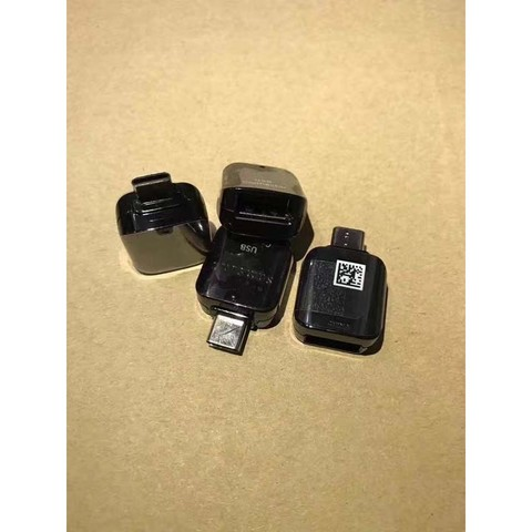 Adapter OTG Samsung S8 USB to Type-C USB Orig White MOQ:50 (MD)
