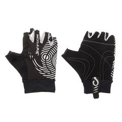 Велоперчатки JAFFSON SCG 46-0336 (чёрный/серый)