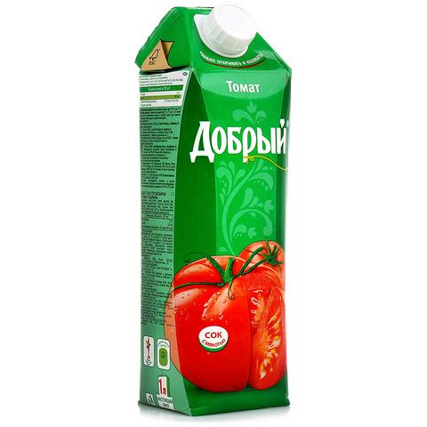 Сок добрый томат МИНИМАРКЕТ 1л