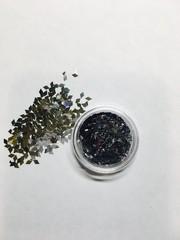 Ромбики для дизайна ногтей/ серебро цвет