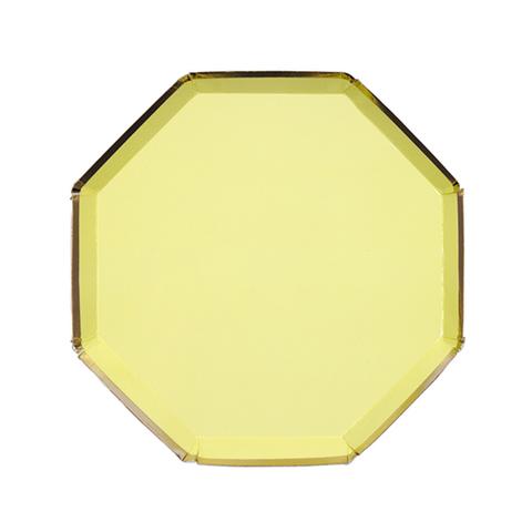 Тарелки желтые