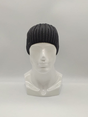 Мужская трикотажная шапка по голове, классика, серая