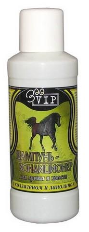 ЗооВИП Шампунь-бальзам д/лошадей от перхоти с глицерином и серой 500мл  1*15