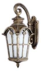 Светильник садово-парковый, 100W 220V E27 черное золото , IP44 , PL5103 (Feron)