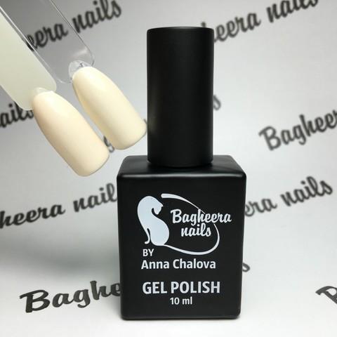 Bagheera Nails BN-30 кремовый айвори, молочно-бежевый оттенок 10 мл