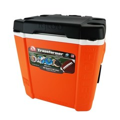 Изотермический пластиковый контейнер Igloo Transformer 60 Roller orange