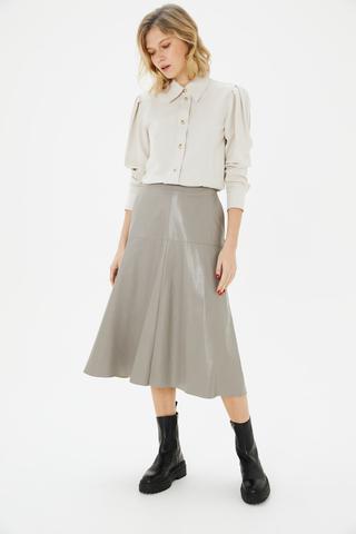 Блуза с рукавами-буфами