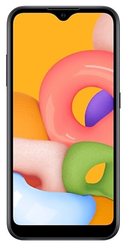 Смартфон Samsung Galaxy A01 2/16Gb Черный