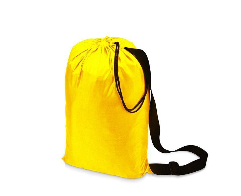 Надувной гамак (ламзак, биван) жёлтый Фото №2