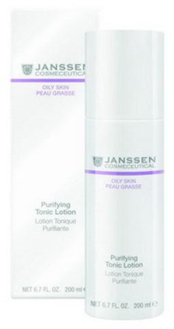 Тоник для жирной кожи и кожи с акне Janssen Purifying Tonic Lotion,500 мл.