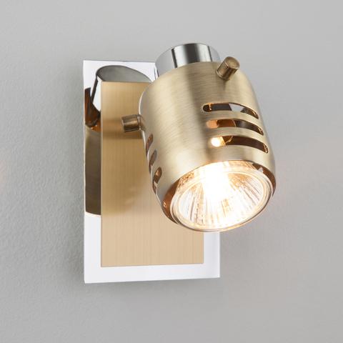 Настенный светильник 23463/1 хром / античная бронза