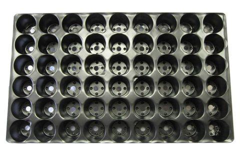 Кассета для рассады 54 круглых ячейки (уп-100шт)