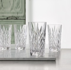 Набор из 4 высоких хрустальных стаканов Imperial, 380 мл, фото 3