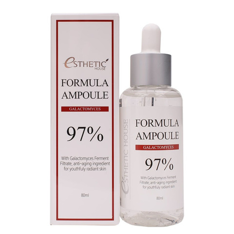 Сыворотка для лица с галактомисисом Esthetic House Formula Ampoule Galactomyces, 80 мл