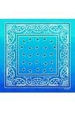 Голубой градиент бандана фото