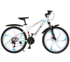 Велосипед Gestalt G-777 литые диски Белый