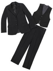 X2011 костюм для мальчиков, черный
