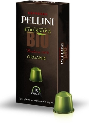 Кофе в капсулах POD Pellini BIO organic