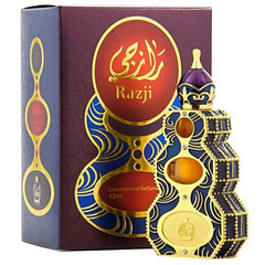 Духи натуральные масляные RAZJI / Pаджи / жен / 12мл / ОАЭ/ Afnan Perfumes