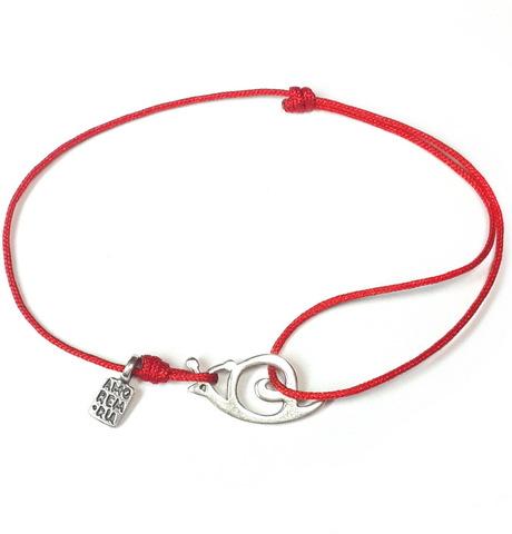 Snail bracelet, sterling silver