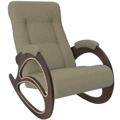Кресло-качалка Комфорт Модель 4 орех/Montana 904