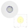Светильник аварийный светодиодный встраиваемый в потолок для высоких помещений SLIMSPOT II Zone HIGHOUTPUT Teknoware с диаграммой светораспределения