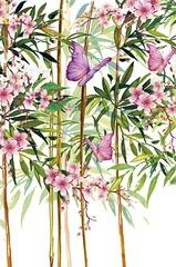 Открытка, Бабочки в Цветах, 12,1 х 18.3 см, 1 шт.